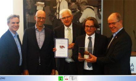 """Prof. Dr. Frank Überall, Bundesvorsitzender des DJV, am 13. Mai in Mönchengladbach zum Thema """"Pressefreiheit"""""""