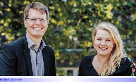 Grüne Fraktion jetzt mit Doppelspitze • Zingsheim und Wolkowski führen 16-köpfige Ratsfraktion an