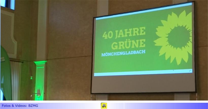 """Festakt zu """"40 Jahre Grüne in Mönchengladbach"""" im Kaisersaal von Haus Erholung: Nicht nur ein Rückblick"""