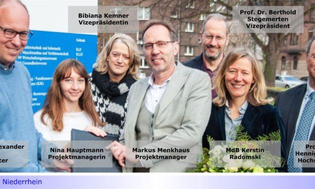 Zwei Millionen Euro für Gründungen: Hochschule Niederrhein erfolgreich beim Förderwettbewerb Exist-Potentiale