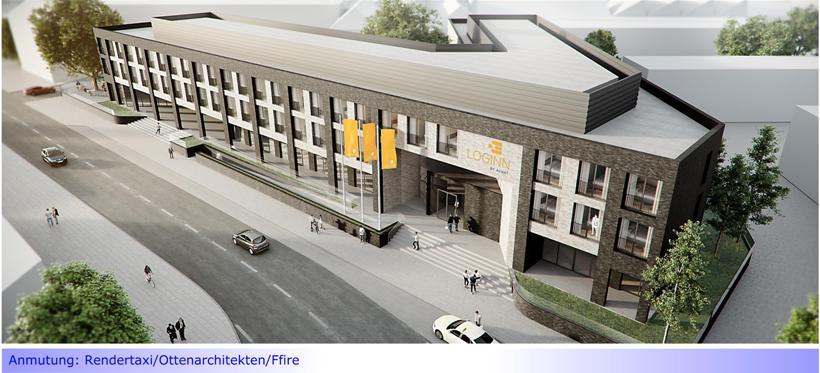 Mönchengladbach erhält ab 2021 ein neues Hotel • Standort: Boetzelen Höfe
