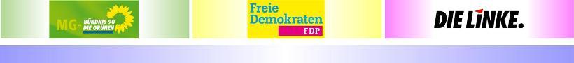 Vor der Stichwahl • Teil II: Keine Wahlempfehlungen von B90/Die Grünen, FDP und DIE LINKE