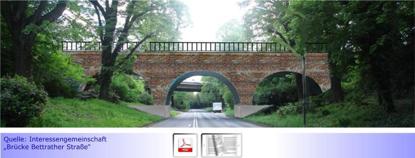 Zuwendungsbescheid über 4,2 Mio. EURO für Brücken-Neubau Bettrather Straße eingetroffen • Durchgehende 4-Spurigkeit der Hermann-Pique-Anlage rückt näher