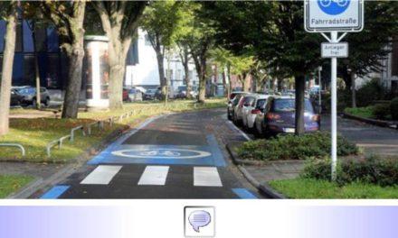"""Nahmobilität • Teil XI: Verstößt """"Blaue Route"""" gegen Straßenverkehrsordnung? • AiB fordert Nachweis über """"zwingende Erforderlichkeit"""" nach StVO • Ampel will """"Optimierung"""""""