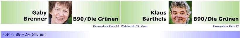 """B90/Die Grünen nun auch in der BV Nord mit """"Doppelspitze"""""""