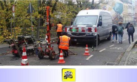 """Baugrunduntersuchung an der Brücke Bettrather Straße • Erste """"Vorboten"""" für den (von Bürgern ungewollten) Neubau? • Ergebnisse der Sonderuntersuchungen bald öffentlich?"""