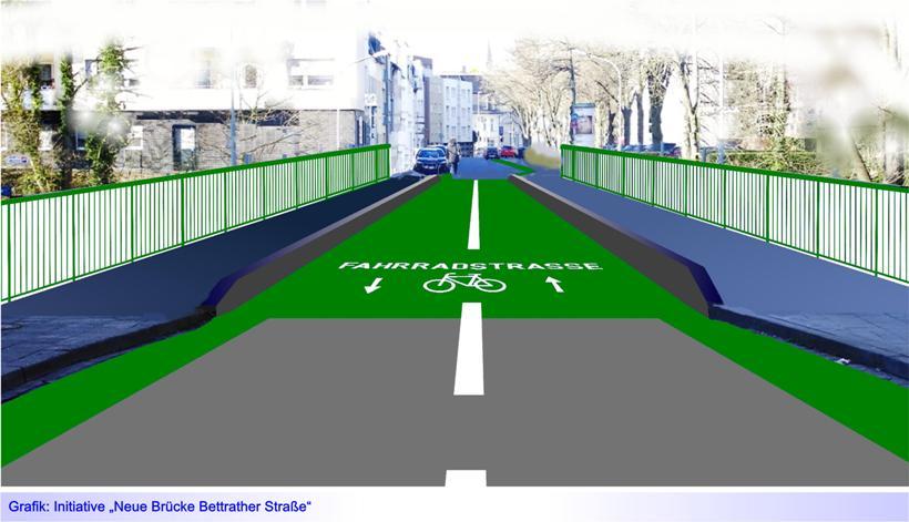 """Brücke Bettrather Straße: Verwaltung reichte am 16. April Förderantrag zu """"Neubau als grundhafte Erneuerung …"""" ein"""