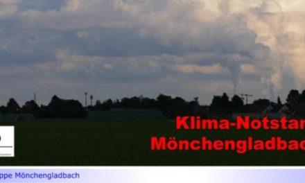 """Aufbruchstimmung in Mönchengladbach, wenn es um Bauprojekte geht, beim Klima Fehlanzeige • BUND Mönchengladbach: """"Anstatt zu handeln nur Symbole und Appelle an die Bürger … Toll!"""""""