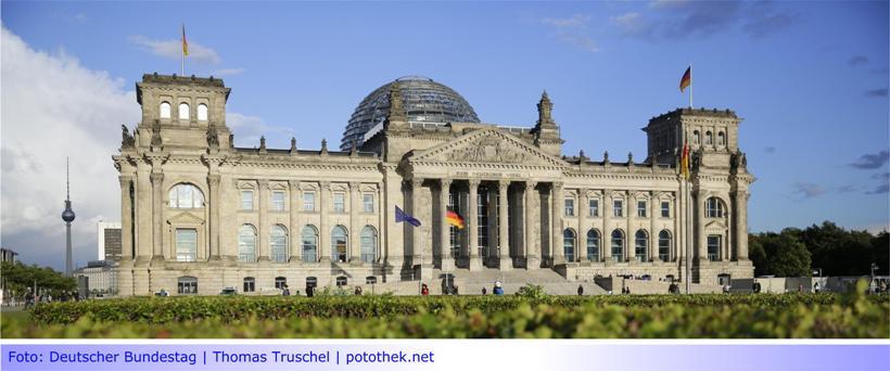 """""""Der Deutsche Bundestag auf einen Blick"""" • Informative Bundestagsbroschüre"""