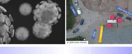 Einsatz des mobilen Corona-Untersuchungszentrum (CUZ) des Kreises Viersen in der Osterzeit • Sondertermin am Karsamstag in Nettetal