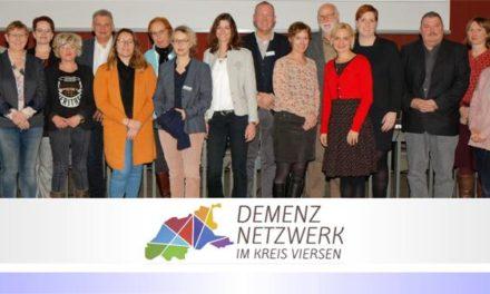 Demenz-Netzwerk im Kreis Viersen hat Arbeit aufgenommen • Hilfen für Alleinstehende mit Demenz werden ausgebaut