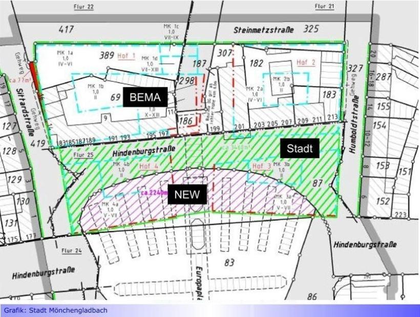 EUROPAPLATZ • BUND: Schildbürgerstreich in Mönchengladbach • Stadt zäumt Pferd von hinten auf • Offener Brief an OB Reiners und Poltik