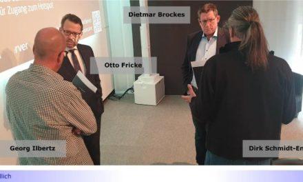 Corona Krise: FDP besucht Willicher Unternehmen