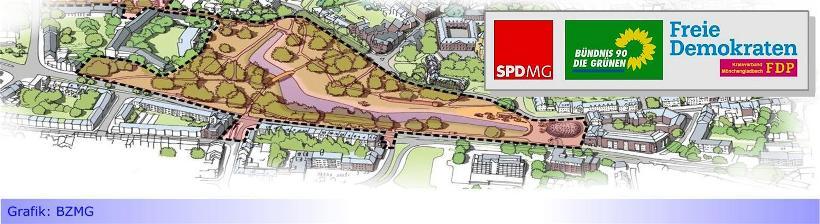 """Gero-Park • Teil VII: Ampel will Pläne zum Geropark nachbessern lassen: """"Bürger auch bei der Ausführung beteiligen"""""""