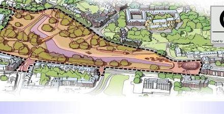"""Stadtinterne Wasserflächen ohne ökologischen Wert • Kritik auch am Planungsprozess • BUND bezieht gegenüber """"Quartiersmanagment Gladbach & Westend"""" Stellung"""