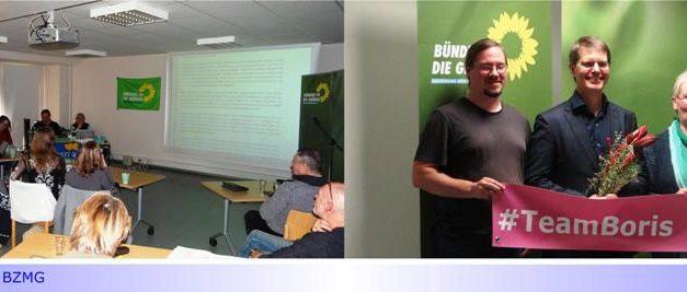 Grüne beschließen Kommunalwahlprogramm 2020 und wählen Dr. Boris Wolkowski zu ihrem Kandidaten für das Amt des Hauptverwaltungsbeamten (OB)