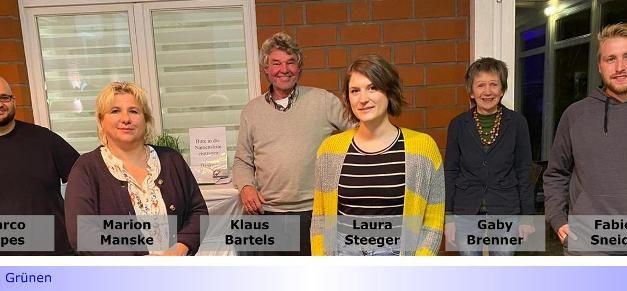 Grüne im Norden mit neuem Vorstand • Jetzt Laura Steeger und Klaus Barthels als Sprecher