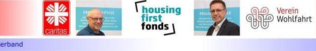 """Caritas und Verein Wohlfahrt engagieren sich für wohnungslose Menschen • """"Housing-First"""": Start in ein neues Leben"""