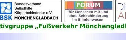 "Nahmobilität • Teil XIX: Fachverband FUSS e.V. fasst Fuß auch in Mönchengladbach • Initiativgruppe ""Fußverkehr Mönchengladbach"" ist Kooperationspartner"