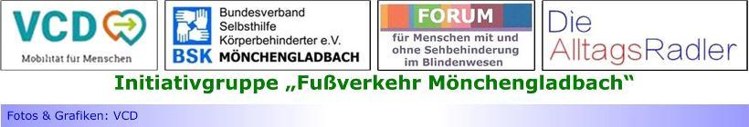 """Fachverband FUSS e.V. fasst Fuß auch in Mönchengladbach • Initiativgruppe """"Fußverkehr Mönchengladbach"""" ist Kooperationspartner"""