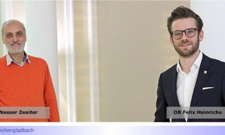 Nasser Zeaiter (B90/Die Grünen) neuer Vorsitzender des Integrationsrates • Losentscheid nach zwei stimmgleichen Wahlgängen • Stabstelle Integration bleibt im Zuständigkeitsbereich des OB