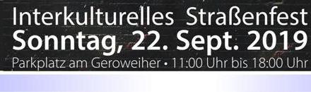 """Interkulturelle Woche startet am 22. September mit Straßenfest am Geroweiher • Motto: """"Zusammen leben, zusammen wachsen"""""""