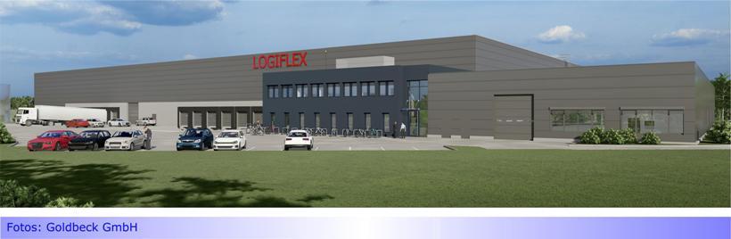 Logiflex GmbH zieht innerhalb Mönchengladbachs um • Letzte Baulücke im Gewerbegebiet Güdderath geschlossen • Keine neuen Arbeitsplätze • Keine zusätzliche Wertschöpfung für die Stadt
