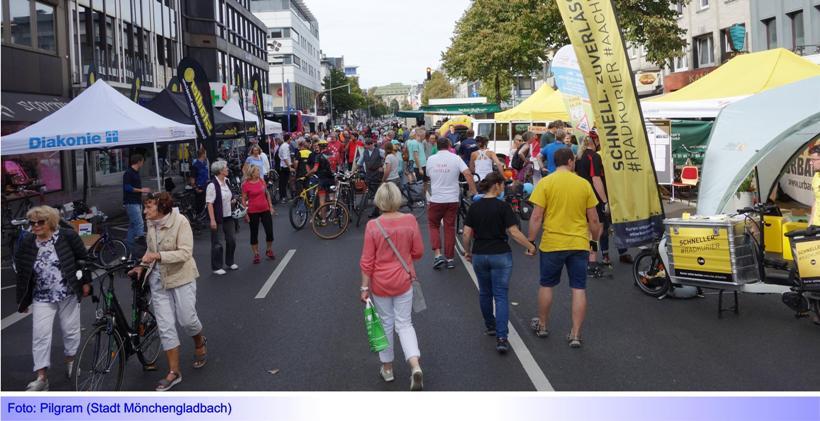 Tag der Mobilität: Mobilitätsfest am Sonntag, 22. September, 11:00-17:00 Uhr, auf der Bismarckstraße