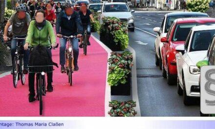 """Vorläufiger Stopp für """"Protected Bike Lane"""" in Düsseldorf"""