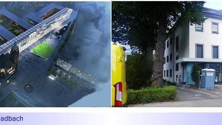 Rathaus-Neubau • Teil IV: EWMG führt dennoch Sanierung für 6-stelligen EURO-Betrag durch • Aber: Kein Geld für Barrierefreiheit im Rathaus Abtei