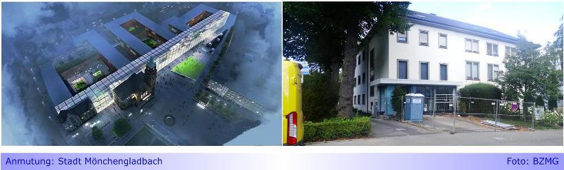 Trotz Planungen für Rathaus-Neubau: EWMG führt Sanierung für 6-stelligen EURO-Betrag durch • Aber: Kein Geld für Barrierefreiheit im Rathaus Abtei