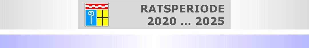 Konstituierungen 2020 • Teil I: Ratssitzungen zukünftig in Neuwerk? • Wer führt Felix Heinrichs ins Amt ein?