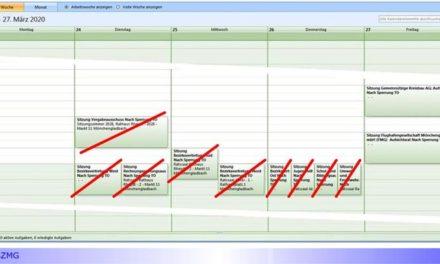 Nächster Ratszug abgesagt • Tagesordnungspunkte sollen in den Ratszug Mai/Juni übernommen werden