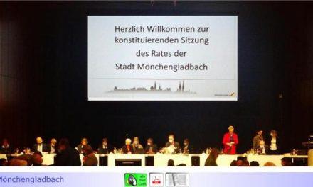 Konstituierungen 2020 • Teil IV: Mönchengladbacher Stadtrat nimmt Arbeit auf • Drei bemerkenswerte Reden mit Mahnungen und Perspektiven