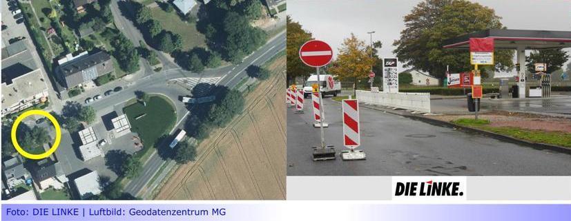 """LINKE: """"Bezirksvorsteher Oellers soll Versprechen halten"""" • Haltestelle """"Rheindahlen-Umgehungsstraße"""" fehlt in der Liste der Mönchengladbacher ÖPNV-Haltestellen"""