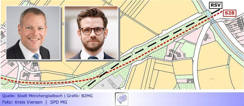 """S28 • Teil XXI: Landrat Dr. Coenen und Oberbürgermeister Heinrichs vereinbaren Treffen aller Beteiligten • Wirklich alle """"Irritationen"""" ausgeräumt?"""