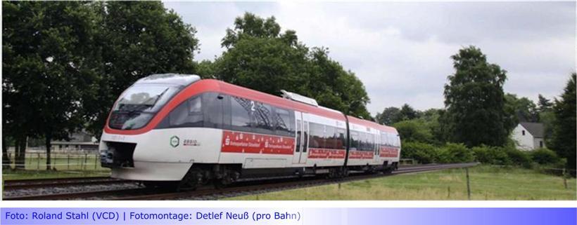 """""""Wir sind fest entschlossen, die S28-Pläne auf die Schiene zu bringen"""" • Landrat Dr. Coenen stellte Regiobahn-Pläne der Gesellschafterversammlung vor • Dr. Schlegelmilch (CDU) ebenfalls Befürworter?"""
