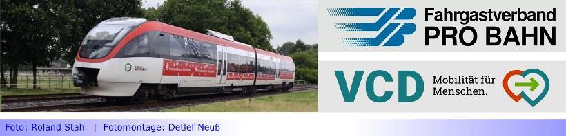 """S28 • Teil XIV: PRO BAHN und VCD setzen auf """"Koexistenz"""" von S28 und Radschnellverbindung im Bereich Willich/ Neuwerk ein • Aufruf zu Stellungnahmen an die Stadt Mönchengladbach"""