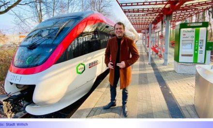 """S28 • Teil XXIV: Willicher Bürgermeister Pakusch: """"Endlich kommt was ins Rollen"""" • Verwaltungschefs wollen durch gegenseitige Unterstützung Schienenverkehr in der Region stärken"""