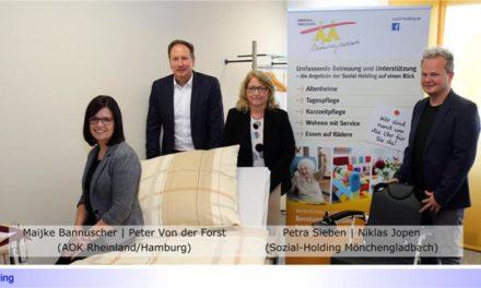 Sozial-Holding und AOK starten Ende August kostenlose Kurse für pflegende Angehörige