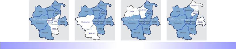Bezirksvertretungen eröffnen den Reigen der politischen Gremiensitzungen im bevorstehenden Ratszug