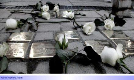 Gegen das Vergessen • Teil VI: 17 weitere Stolpersteine auch als Mahnung für die Zukunft in Mönchengladbach