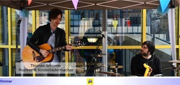"""Mit-Mach-Lieder für Groß und Klein • Musiker und Kinderliedermacher Thomas Wimmer noch vier Mal in diesem Jahr mit """"Rocken auf Socken"""" im Paritätischen"""