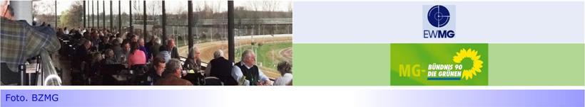 """Grüne kritisieren: """"EWMG will Trabrennbahn platt machen"""" • Erneuter Versuch des Dr. Ulrich Schückhaus """"auf Grundwasser"""" bauen zu wollen?"""