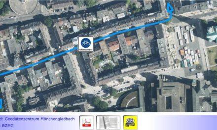 """Nahmobilität • Teil XII: Ampel will 'Blaue Route' """"optimieren"""" lassen • Nicht nur Hauptstraße als Fahrradstraße """"abenteuerlich""""?"""
