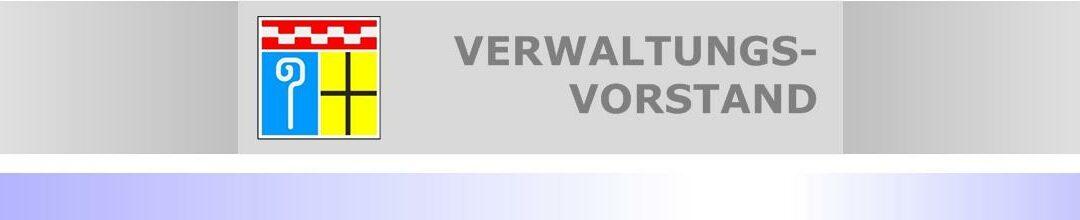 Nachfolger für Beigeordneten Dr. Gert Fischer (CDU) gesucht • Dienstantritt ist der 01. Februar 2022