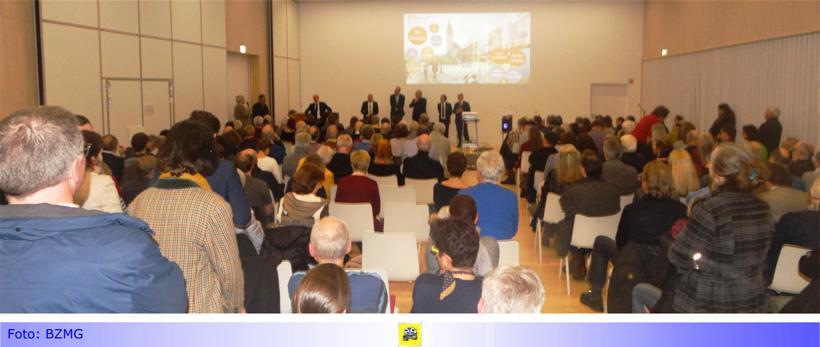 Vorstellung der Vision eines neuen Rathauses/ Verwaltungsgebäudes in Rheydt • Etwa 60 Minuten geballte Informationen