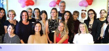 """Abschluss mit Zukunft: 14 Frauen haben den Kurs """"BIF – Berufliche Integration von Frauen mit Migrationshintergrund"""" geschafft"""
