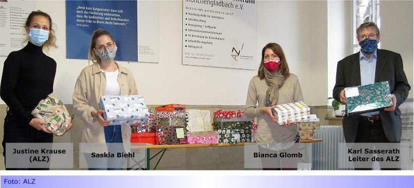 Weihnachten aus dem Schuhkarton • Günhovener Grundschüler haben geteilt: 45 Kartons für bedürftige Kinder.