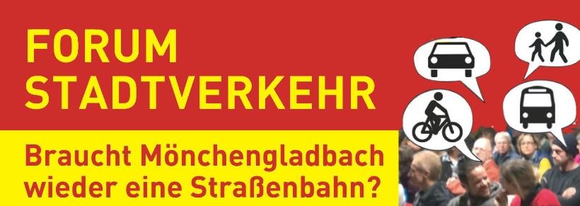 """Nahmobilität • Teil I: """"Braucht Mönchengladbach eine Straßenbahn?"""" • ADFC veranstaltete """"Stadtverkehrsforum"""" im TIG • Eine Nachbetrachtung"""